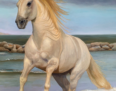 Vit Häst