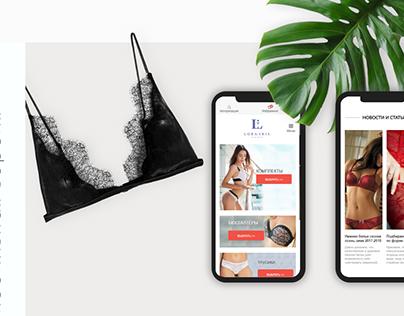 LORA IRIS | Underwear online store