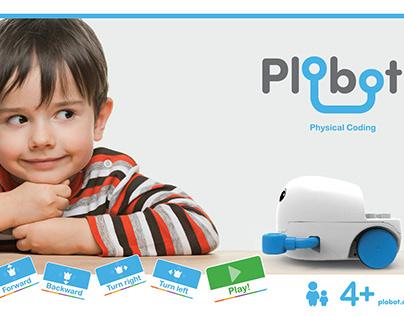 """Plobot """"tangible programming robot toy"""""""