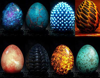Dragon Egg Concepts
