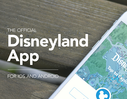 Disneyland: iOS & Android App