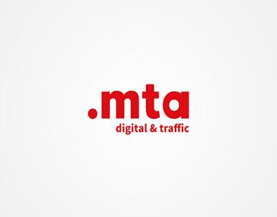 Logo animation of MTA - Performance Agency