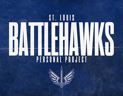 St. Louis BattleHawks Personal Project