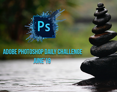 Adobe Live, Photoshop Daily Challenge, June'19