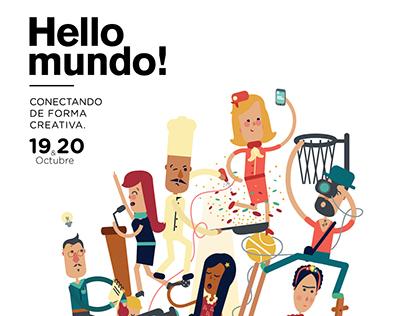 Poster Hello mundo