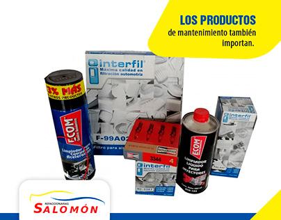 Refraccionarias Salomon on Facebook