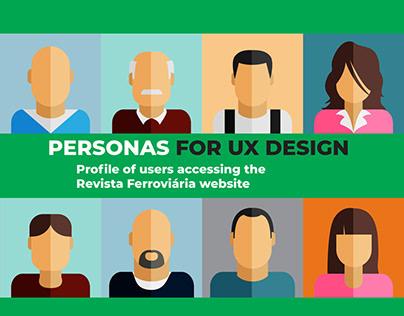 User Personas -Revista Ferroviária