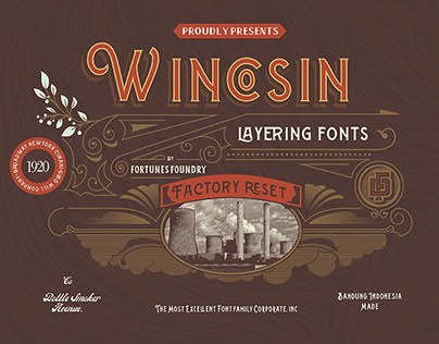 Wincosin Typeface