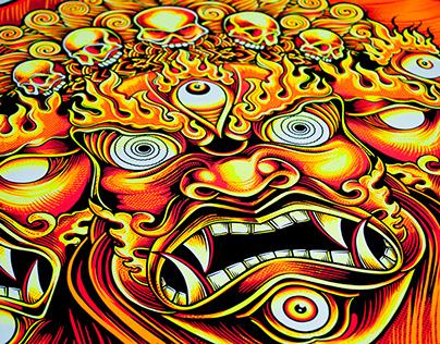 Rock Festival Poster Series