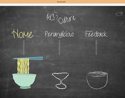 Website design_Art&Culture_Food (print screen)