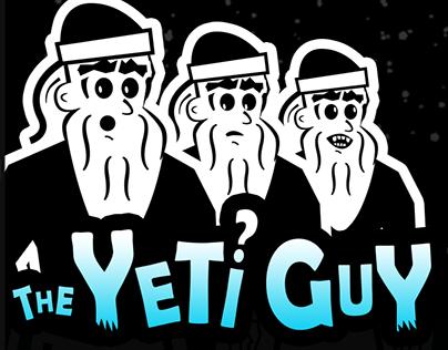 The Yeti? Guy - Logo For ThrillStorm.com Comic