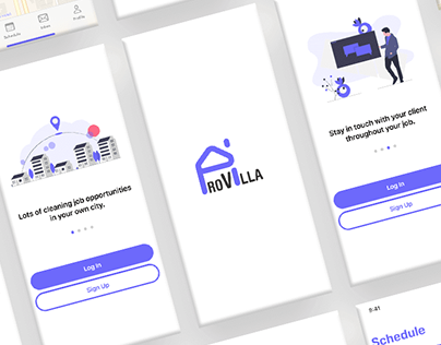 ProVilla Cleaner App