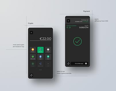 Crypto mPOS Concept for Starbucks