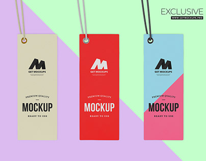 Free Label Psd Mockup