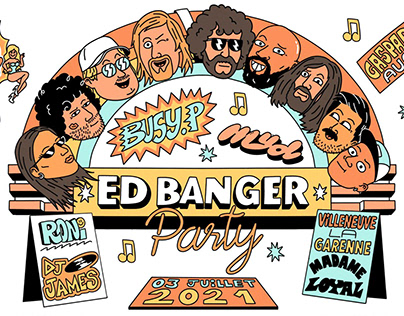 Ed Banger T-shirts