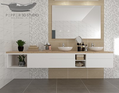 Bathroom and laundry room visualization