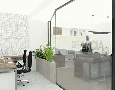 Diseño de oficinas con mobiliario