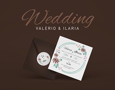 Valerio & Ilaria - Wedding Branding