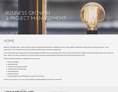 Responsive Website Design, Greenborough Management