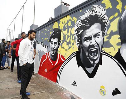 adidas graffiti...