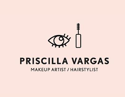 Priscilla Vargas / Makeup Artist / Branding