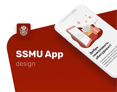 UI/UX   Siberian State Medical University app