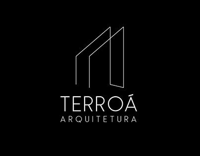 Terroá Arquitetura -Branding Corporate Identity Design
