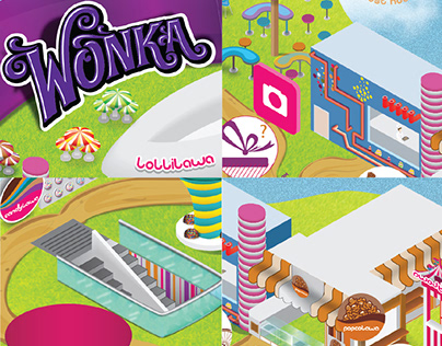 Candylawa Pt.2 - souvenir map