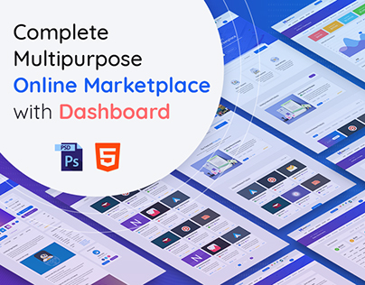 Marketplace Template & Dashboard