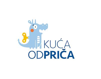 logo / kuća od priča