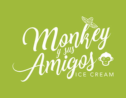 Monkey y sus Amigos logo and branding