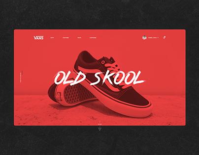 Vans Old Skool design