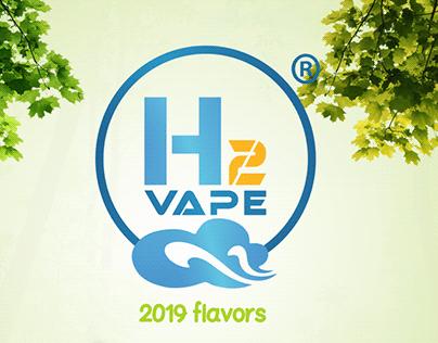 H2VAPE Egy. e-liquid Brand 2019 Flavors