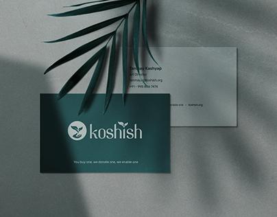 Koshish — Branding