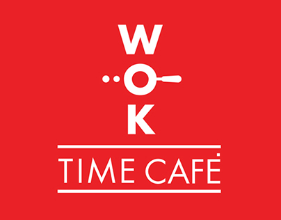 WOK TIME CAFE BRANDING