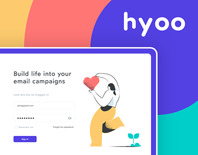 Hyoo - Email Builder (UX/UI)