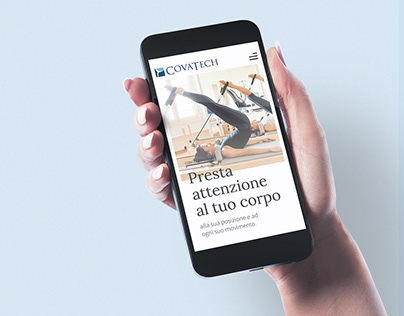A new digital experience for Covatech Pilates School