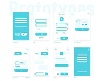 Patient App — Australia. UX/UI Design Medical Service