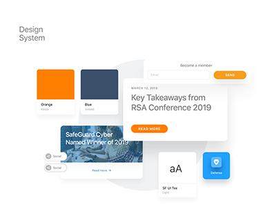 UI Design @Safeguardcyber