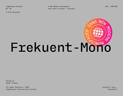 TG Frekuent-Mono Typeface