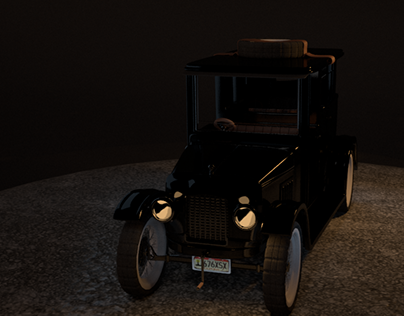 The Call Of Mystery Turntable Car