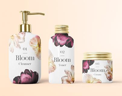 Bloom Skincare Branding & Packaging