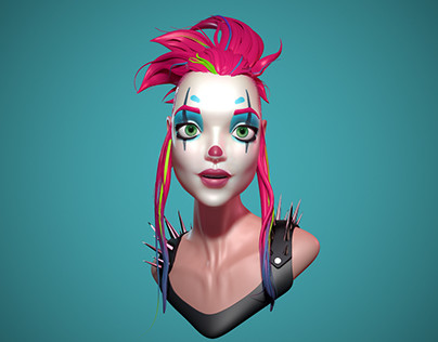 Speed sculpt inspired by a design from Loish