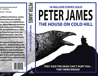 Peter James Book Cover Design