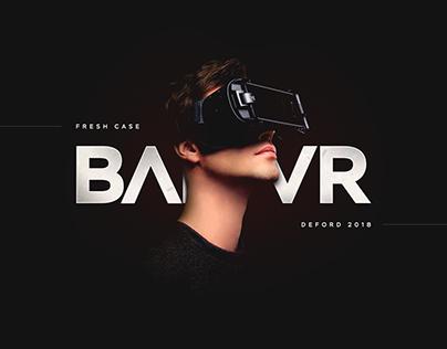 BAR VR / Landing page / Виртуальная реальность