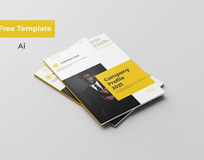 Company Profile Brochure Download Free Template