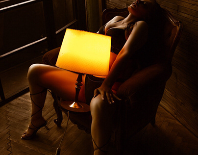 Erotic and lamp