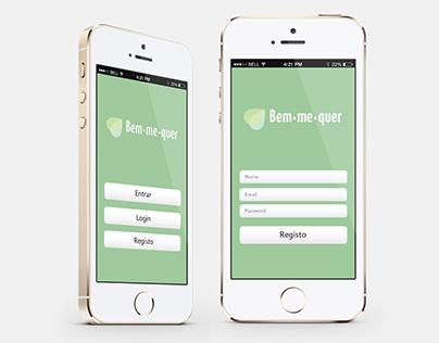 Aplicação Mobile: Bem-me-quer