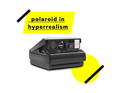 Polaroid - Hyperrealism