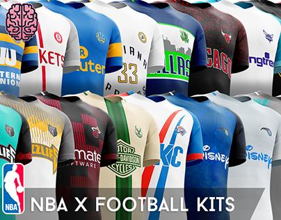 NBA x Football Kits